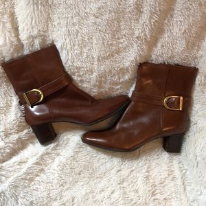 Anne Klein Ankle Buckle Booties SZ 7.5